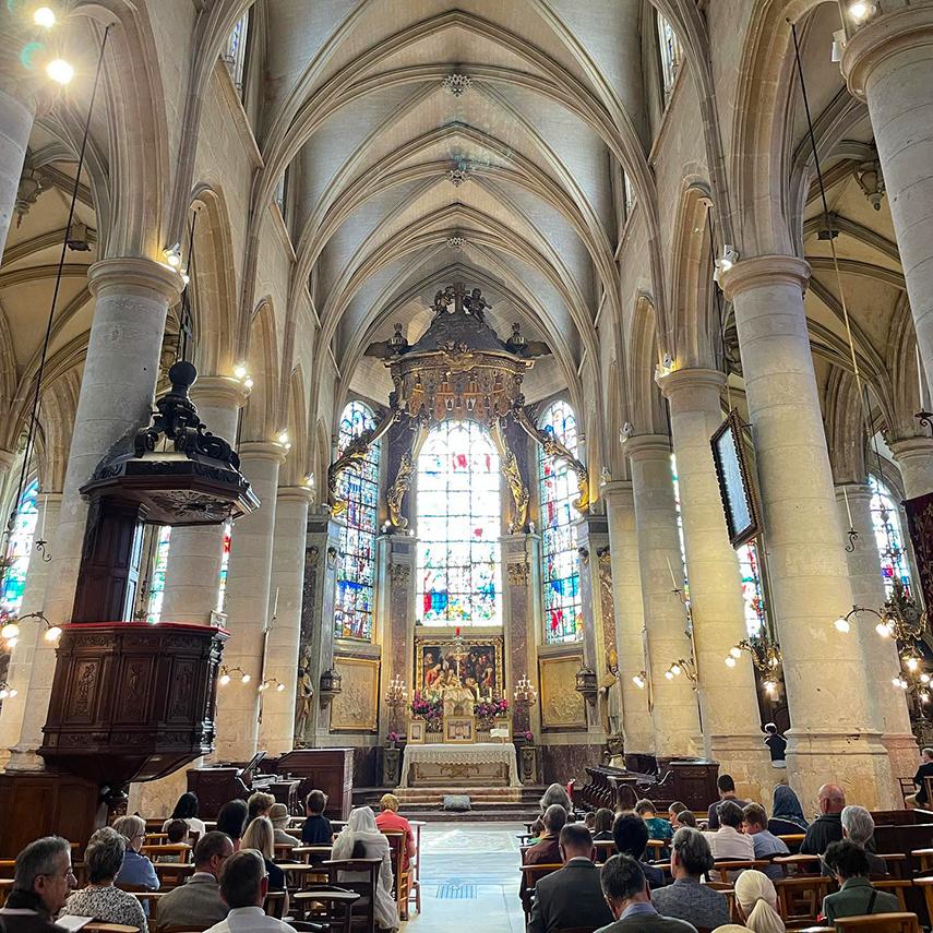 messe de l'Assomption à Saint-Patrice